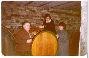 Opa Weinkeller früher
